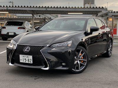 ヘルプ吉村の高級車レンタカー配達日記181〜レクサス GS450h Fスポーツ〜