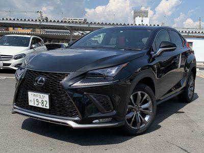 ヘルプ吉村の高級車レンタカー配達日記176〜レクサス NX300 Fスポーツ AWD〜