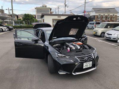 おじいちゃんの高級車レンタカー配達日記21~レクサス IS300h~