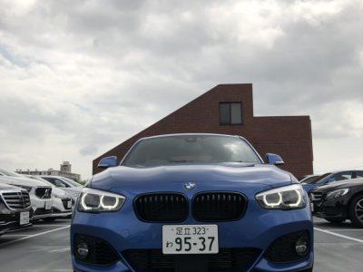 クリス二瓶の高級車レンタカー配達日記116 BMW 118I