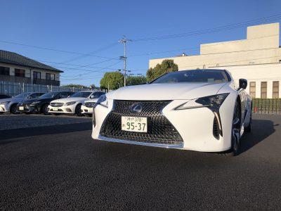 あすかの高級車レンタカー配達日記28〜レクサス LC500〜