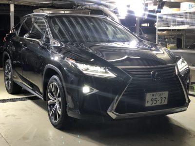 タンメン樫原の高級車レンタカー配達日記115 レクサス RX450hL