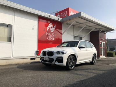 ひでぼう田辺の高級車レンタカー配達日記28〜BMW X3 xDrive 20d Mスポーツ〜