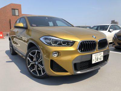 じゅんちゃんの高級車レンタカー配達日記23~BMW X2 xDrive 20i MスポーツX~