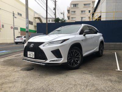 こーせーの高級車レンタカー配達日記27〜レクサス RX300 F sports~