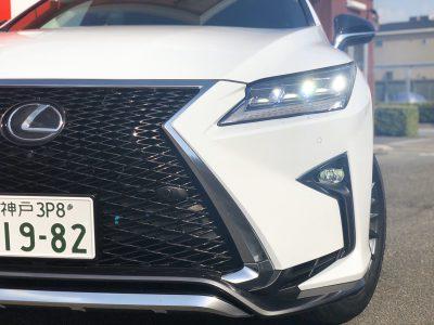 タンメン樫原の高級車レンタカー配達日記117 レクサス RX300 Fスポーツ
