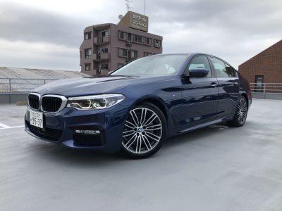 じゅんちゃんの高級車レンタカー配達日記28~BMW 523i Mスポーツ~