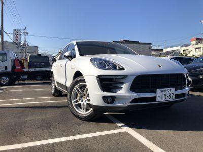 あすかの高級車レンタカー配達日記34〜ポルシェ マカンS〜