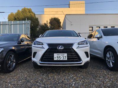 あすかの高級車レンタカー配達日記33〜レクサス NX300h〜