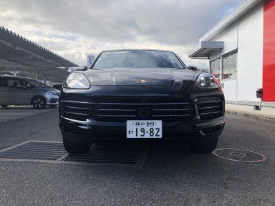 あすかの高級車レンタカー配達日記36〜ポルシェ カイエン〜