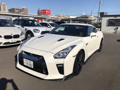 あすかの高級車レンタカー配達日記35〜日産 GT-R〜