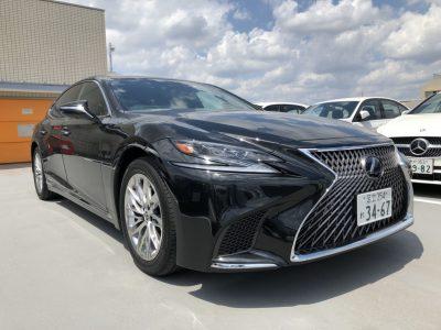 じゅんちゃんの高級車レンタカー配達日記30~レクサス LS500h EXECUTIVE~