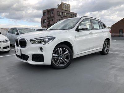 じゅんちゃんの高級車レンタカー配達日記29~BMW X1 xDrive 18d Mスポーツ~