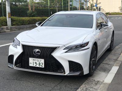 タンメン樫原の高級車レンタカー配達日記122 ~レクサス LS500h Fスポーツ~