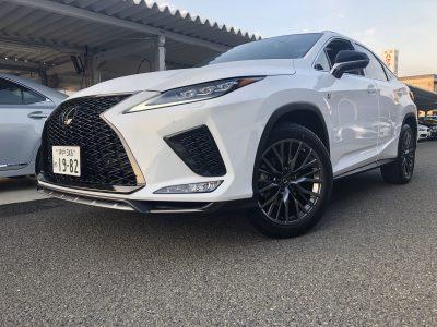 トリプル木村の高級車レンタカー配達日記188~レクサス RX300 Fスポーツ~
