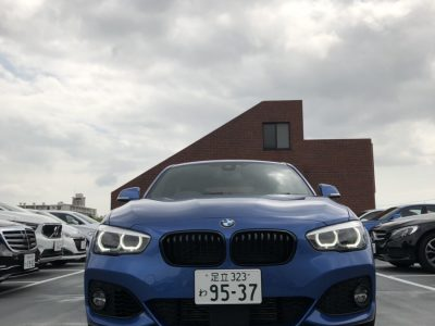 クリス二瓶の高級車レンタカー配達日記135 BMW 118i