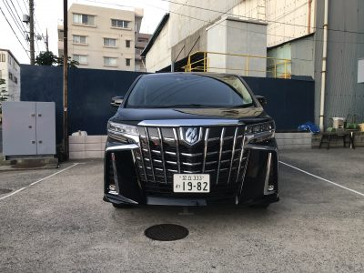 こーせーの高級車レンタカー配達日記37〜トヨタ アルファード エグゼクティブラウンジ~