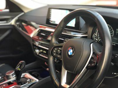 タンメン樫原の高級車レンタカー配達日記125 BMW 523d