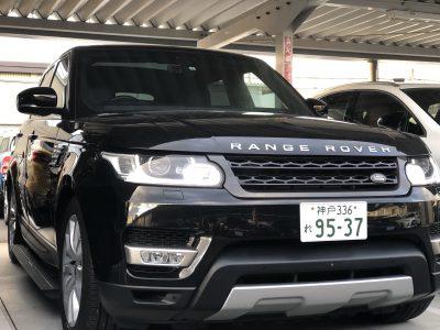 タンメン樫原の高級車レンタカー配達日記126 ランドローバー レンジローバースポーツ