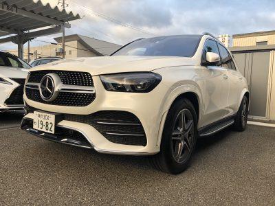トリプル木村の高級車レンタカー配達日記192~ベンツ GLE450 4MATIC Sports~