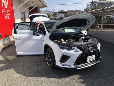 おじいちゃんの高級車レンタカー配達日記36~レクサス RX300 Fスポーツ~