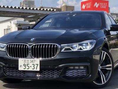 タンメン樫原の高級車レンタカー配達日記127 BMW 750i