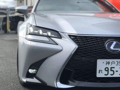タンメン樫原の高級車レンタカー配達日記 136 ~LEXUS GS300h Fsports ~