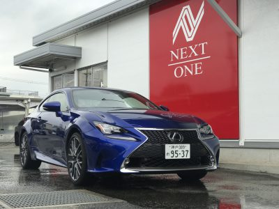 チャーリー坂本の高級車レンタカー配達日記128〜レクサス RC300〜