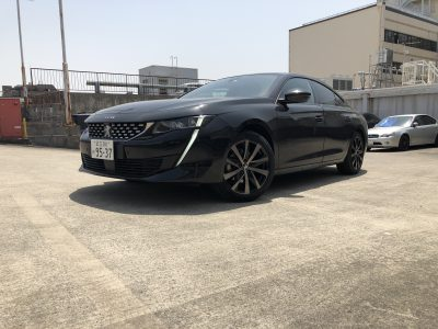 トリプル木村の高級車レンタカー配達日記210~プジョー 508 GT LINE~