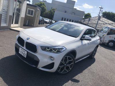 あすかの高級車レンタカー配達日記54〜BMW X2〜