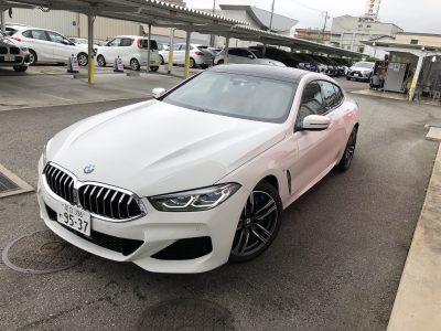 かっきーの高級車レンタカー配達日記8~BMW 840i グランクーペ Mスポーツ~