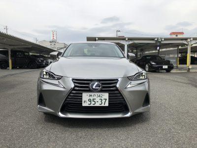 タンメン樫原の高級車レンタカー 配達日記145~LEXUS IS300h Ver.L~