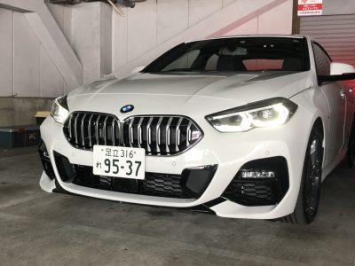 ボーイ宮川の高級車レンタカー配達日記8〜BMW 218iGC〜