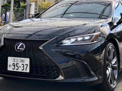タンメン樫原の高級車レンタカー配達日記142~LEXUS ES300h Fsports~