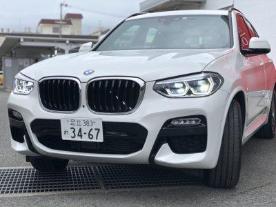 タンメン樫原の高級車レンタカー配達日記143~BMW X3 xDrive20d Msports ~