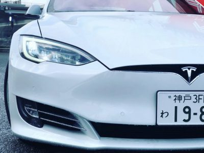 タンメン樫原の高級車レンタカー配達日記149〜テスラ モデルS〜