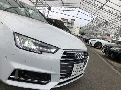 かっきーの高級車レンタカー配達日記16〜アウディ A4〜