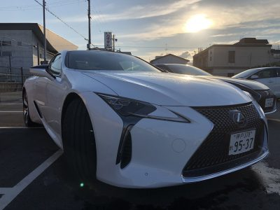 かっきーの高級車レンタカー配達日記17〜レクサス LC500〜