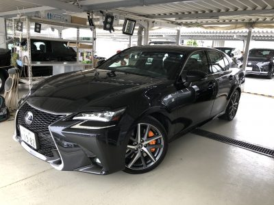 かっきーの高級車レンタカー配達日記14〜レクサス GS450h Fスポーツ〜