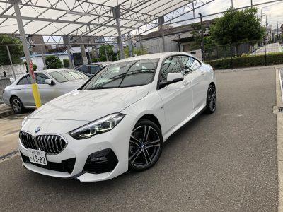 りょうくんの高級車レンタカー配達日記16〜BMW 218iグランクーペMスポーツ〜