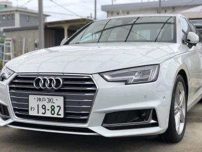 ありー座間の高級車レンタカー配達日記14~アウディ A4 35TFSI~