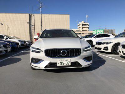 じゅんちゃんの高級車レンタカー配達日記60~ボルボ V60 T5 インスクリプション~