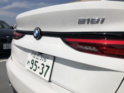 じゅんちゃんの高級車レンタカー配達日記62~BMW 218iグランクーペ~