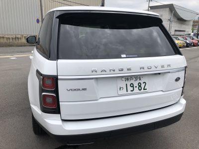 おじいちゃんの高級車レンタカー配達日記59〜ランドローバー  レンジローバー 3.0V6SC(340ps) ヴォーグ~