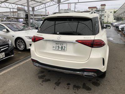 おじいちゃんの高級車レンタカー配達日記60〜ベンツ GLE450  4MATIC スポーツ~