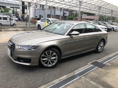 かっきーの高級車レンタカー配達日記18〜アウディ A6〜