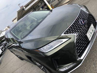 かっきーの高級車レンタカー配達日記21〜レクサス RX450h〜