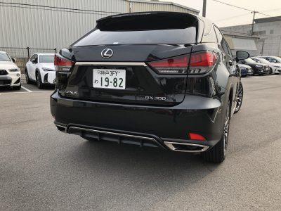 おじいちゃんの高級車レンタカー配達日記64〜レクサス RX300 Fスポーツ~