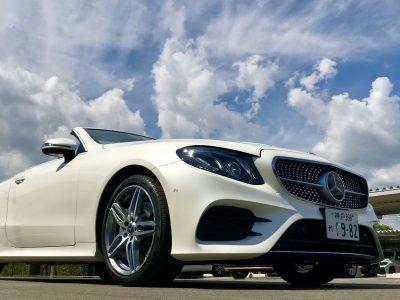 エリーの高級車レンタカー配達日記75〜ベンツ・E200カブリオレ スポーツ〜