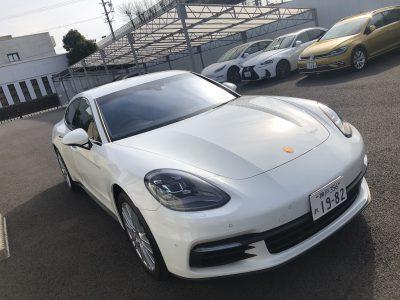 あすかの高級車レンタカー配達日記67〜ポルシェ パナメーラ〜